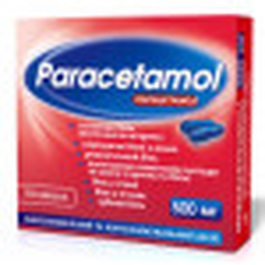 Парацетамол 0,5 г таблетки №10