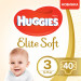 Підгузки Huggies Elite Soft р.3 5-9 кг №40